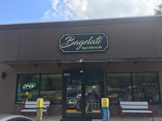 Bagelati, which features bagels and gelato, opened in June in Cinnaminson.