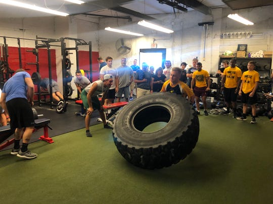 The Underground Strength Gym's 13th annual Lift STRONG Fundraiser benefited the Leukemia & Lymphoma Society and the Navy SEAL Foundation