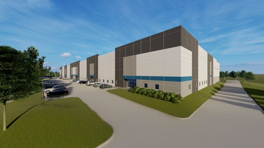 Hubbell Realty has broken ground on a 137,500-square-foot spec building in Ankeny's Crosswinds Business Park. The company currently owns 65 acres in the park and plans to construct more buildings over the next few years.