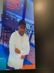 Altoona police shared this photo of the man suspected of robbing Spectators Sports Bar & Grill in Altoona Friday morning.