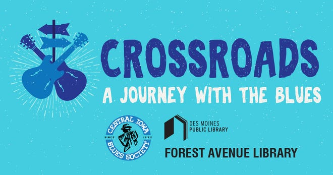 Des Moines jazz musician Scott Davis will lead a sight and sound journey about the history and cultural impact of jazz and blues music Saturday at the Forest Avenue Library. The program is part of the Des Moines Public Library's CROSSROADS program.