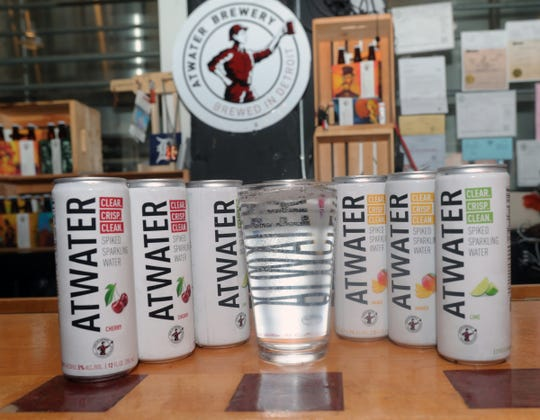Atwater Brewery has developed its own hard seltzer, named after its establishment, in cherry, mango and lime flavors.