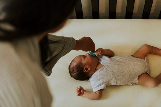 In the United States, about 3,500 infants die each year while they're sleeping. Many of these deaths are preventable.