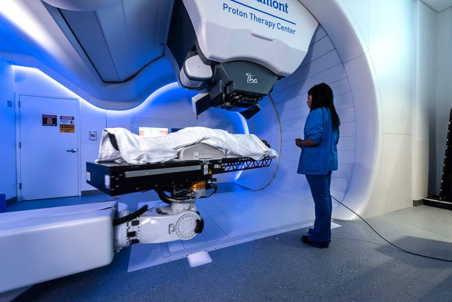 Beaumont's Proton Therapy Center is a 10,000-square-foot facility.