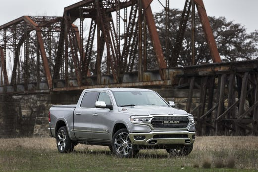The 2020 Ram 1500 Ecodiesel leads the class in towing with 12,560 - a major upgrade over the previous Ram diesel's 9,300 pounds. The diesel truck will start at $38,585.