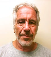 This March 28, 2017, file photo, provided by the New York State Sex Offender Registry shows Jeffrey Epstein. New York City's medical examiner has ruled Epstein's death a suicide. The medical examiner's office said in a statement Friday, Aug. 16, 2019, that an autopsy and other evidence confirms the 66-year-old financier hanged himself in his cell at a federal jail.