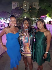 Gina Coleman, Laurie Clark-Horton and Maurielle Lue
