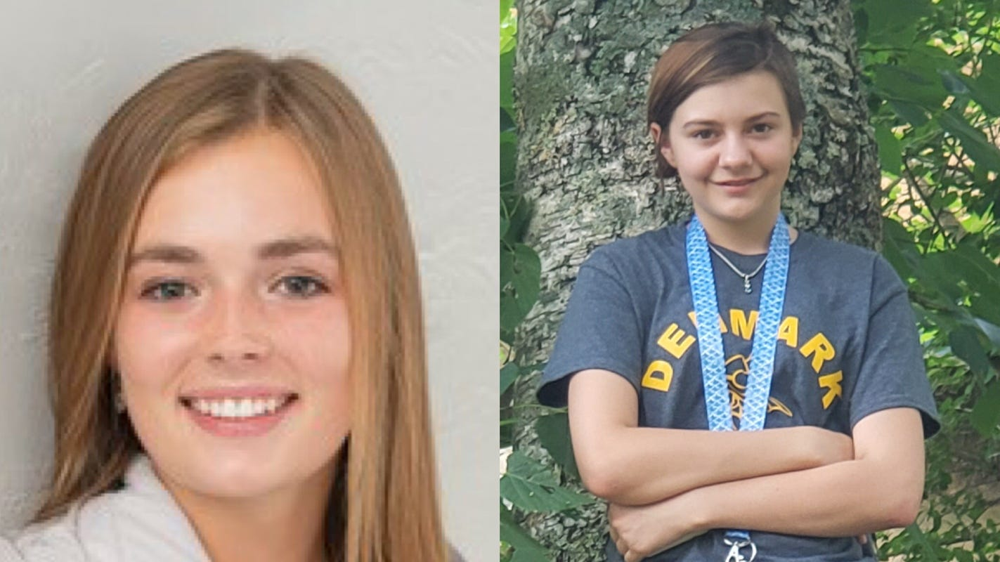 Two local girls, from De Pere and Denmark, finalists in national charity contest, need votes