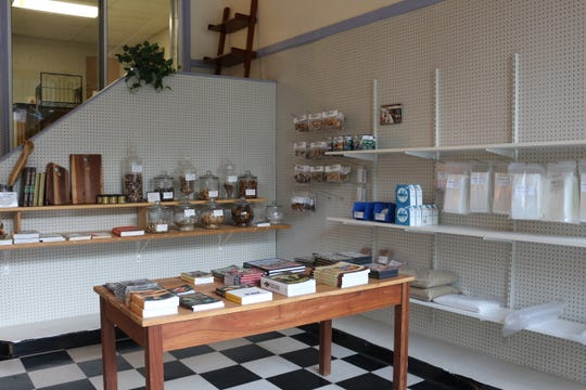 The shop was recently renovated to create a showroom for workshops and demonstrations.