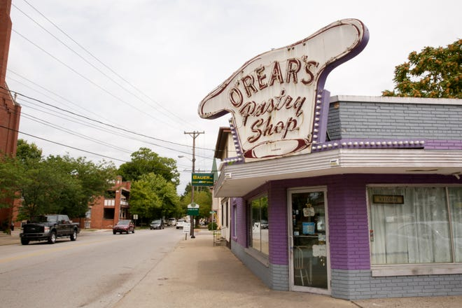O'Rear's Pastry Shop, 321 N. Ninth St., has reopened in a spot it had for 62 years in downtown Lafayette.