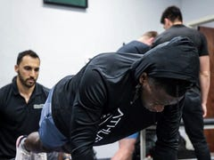 Yoga, Pilates and balance challenges: How some NFL players take their training outside the box