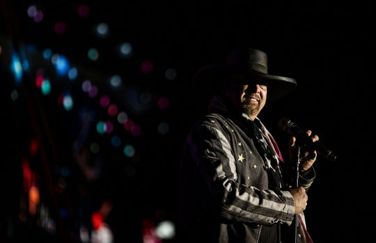 Eddie Montgomery of Montgomery Gentry. The band performs Saturday at Riverfest in Clarksville, Tenn.
