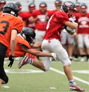 Muskego fullback Josh Bulski is the team's leading rusher with 529 yards in three games.