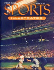 The first Sports Illustrated, featuring Eddie Mathews and Milwaukee County Stadium, turns 65 years old in 2019.