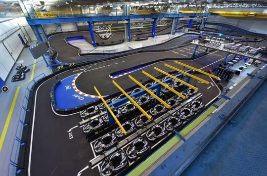 A go-kart course is among the many attractions at Urban Air Adventure Park.  The business has plans to open in the former Gander Mountain store in Waukesha.