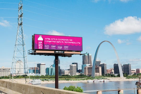 Central Standard commissioned billboards in St. Louis to compete with Michelob Ultra.