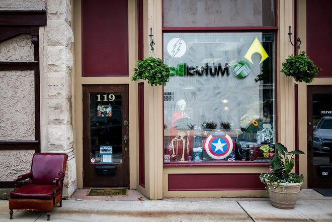 Aw Yeah Comics at 119 E. Charles St. in downtown Muncie.