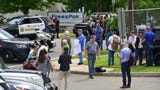 Raw video: Bomb threat made at Driscoll Foods in Clifton.