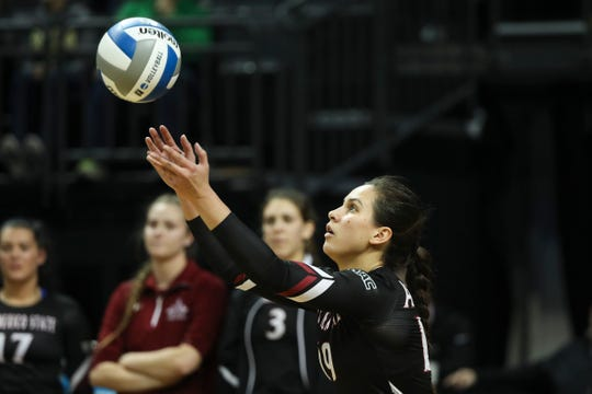 The New Mexico State volleyball team begins its 2019-2020 season on Aug. 30.