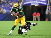 Packers' offense sputters without Aaron Rodgers in 26-13 exhibition loss to Ravens