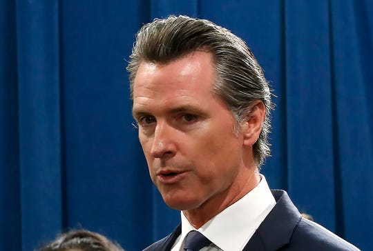Gov. Gavin Newsom withdrew his nomineetoa key seat on the governing board of theSouth Coast Air Quality Management District, which regulates oil refineries and other potentialpolluters in Southern California, on Wednesday, Aug. 28, 2019.