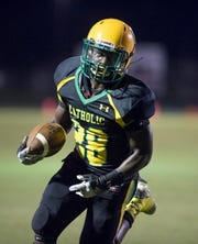 Waymond Jordan led the way for Catholic in a big win over West Florida on Friday.