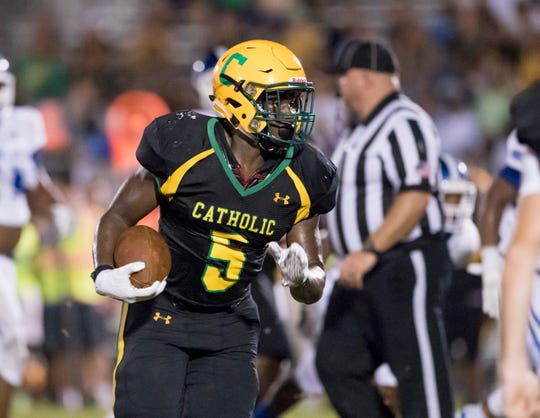 Ja'Kobi Jackson and the Catholic Crusaders defeated Pace in overtime to remain undefeated.