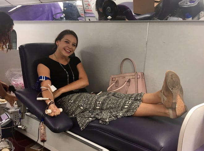 In the days after the mass shooting in El Paso, when urgent calls went out for blood donors, reporter Jessica Boehm was among those from The Republic who gave.
