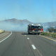 Brush fire closes part of I-17 near Black Canyon City