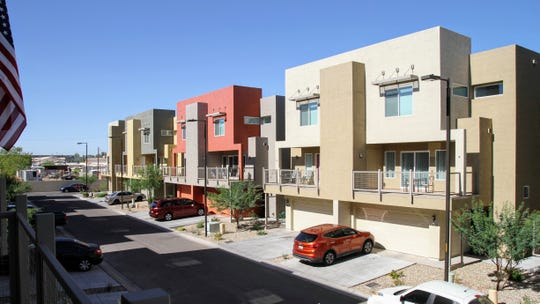 The Tempe Parkview Townhomes provide affordable housing for 18 families in Tempe.