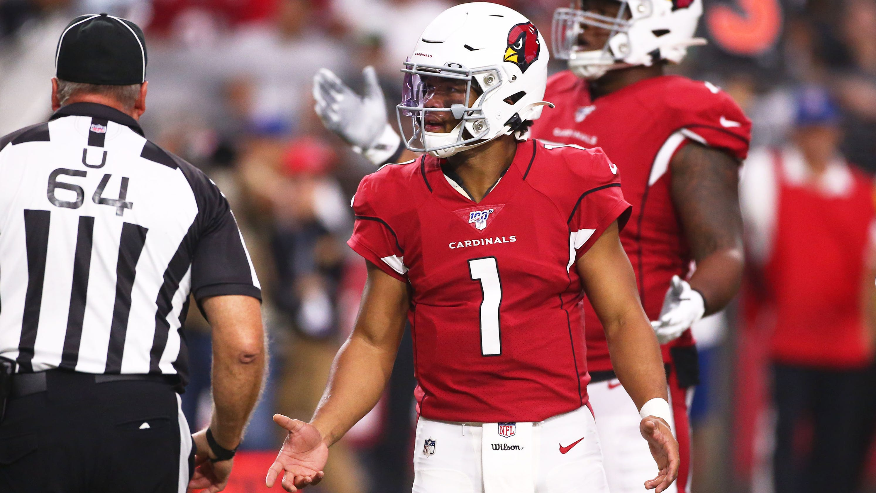 new arrival b9386 c551a NFL: Kyler Murray, Arizona Cardinals must resolve snap problem