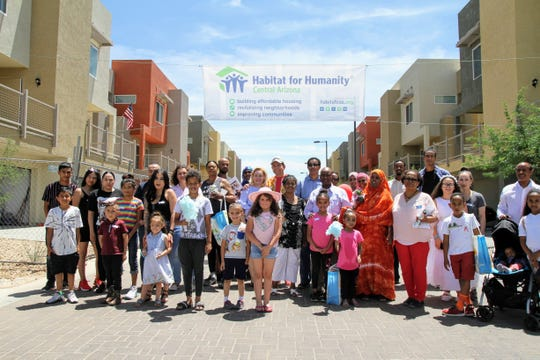 Eighteen families live in Habitat for Humanity's newest affordable community in Tempe.
