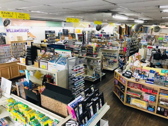 Manny's Art Supplies in New Paltz offers a wide variety of art, crafts and school supplies.