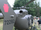 A helicopter used in 'Operation Hurricane', a full-scale emergency simulation demonstration on the Susquehanna River on August 15, 2019.