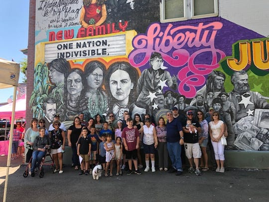 New Mount Morris mural