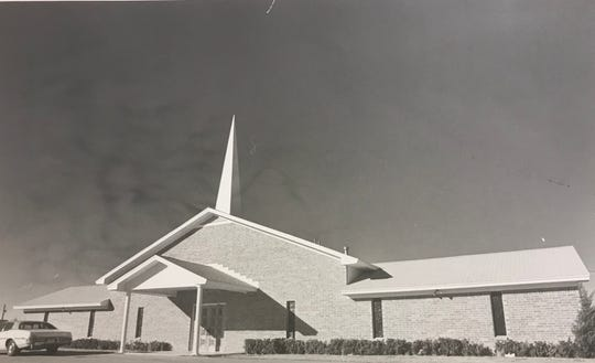 The congregation of West Side Baptist moved to a location just north of Arden Road in 1975, to make room for San Angelo's new expressway.