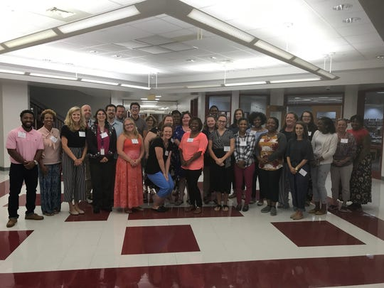 New teachers in Accomack County Public Schools for the 2019-2020 school year include this group from the Eastern Shore of Virginia and Maryland.