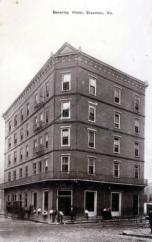 The Beverley Hotel, site of the hush-hush marriage of matinee idol Paul Gilmore in 1909.