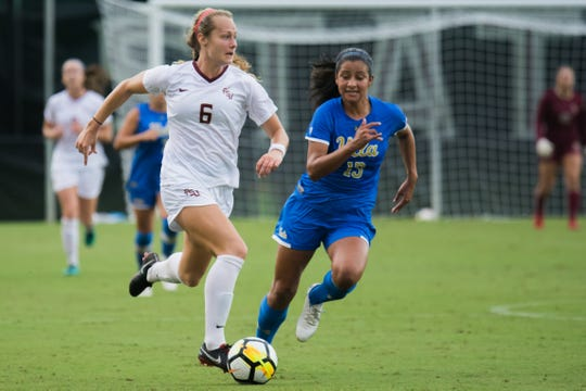 FSU midfielder Jaelin Howell trained with the U.S. Women's National Team for the first time at 17 years old.