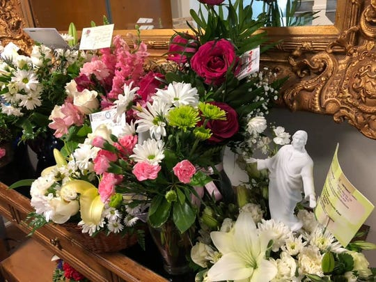 Flowers have been coming in from across the world for the funeral services for Margie Reckard, who was killed in the Aug. 3 mass shooting at a Walmart in El Paso. Her services are Friday and Saturday.