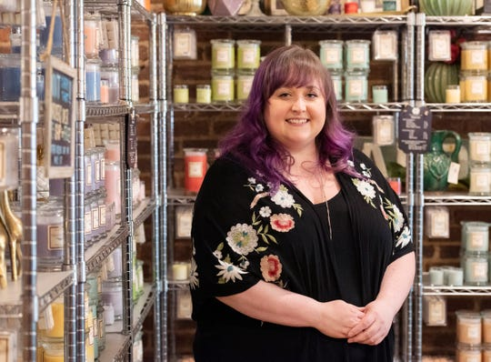 Tina Rodgers is the cofounder of Magnolia Scents in downtown Greenville.