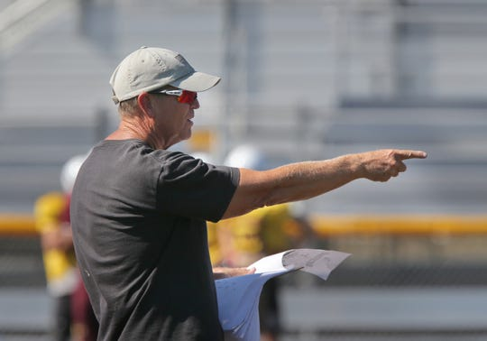 Head coach Jim Benkert has had plenty of postseason experience and success, but his Simi Valley team hasn't had much heading into its first-round game.