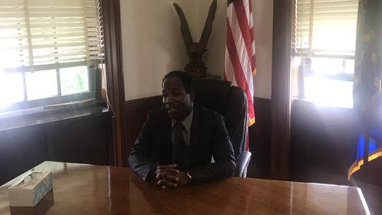 Andre Wallace, finally got into the mayor's office on Aug. 16, 2019, more than five weeks after he believed he became mayor of Mount Vernon