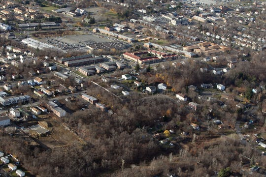 Proposed site of Pascack Ridge, a 200 unit apartment complex in Spring Valley by Pascack Rd. and Ewing St. Dec. 2, 2016.