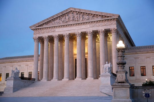 The U.S. Supreme Court building pictured on May 23, 2019 in Washington.
