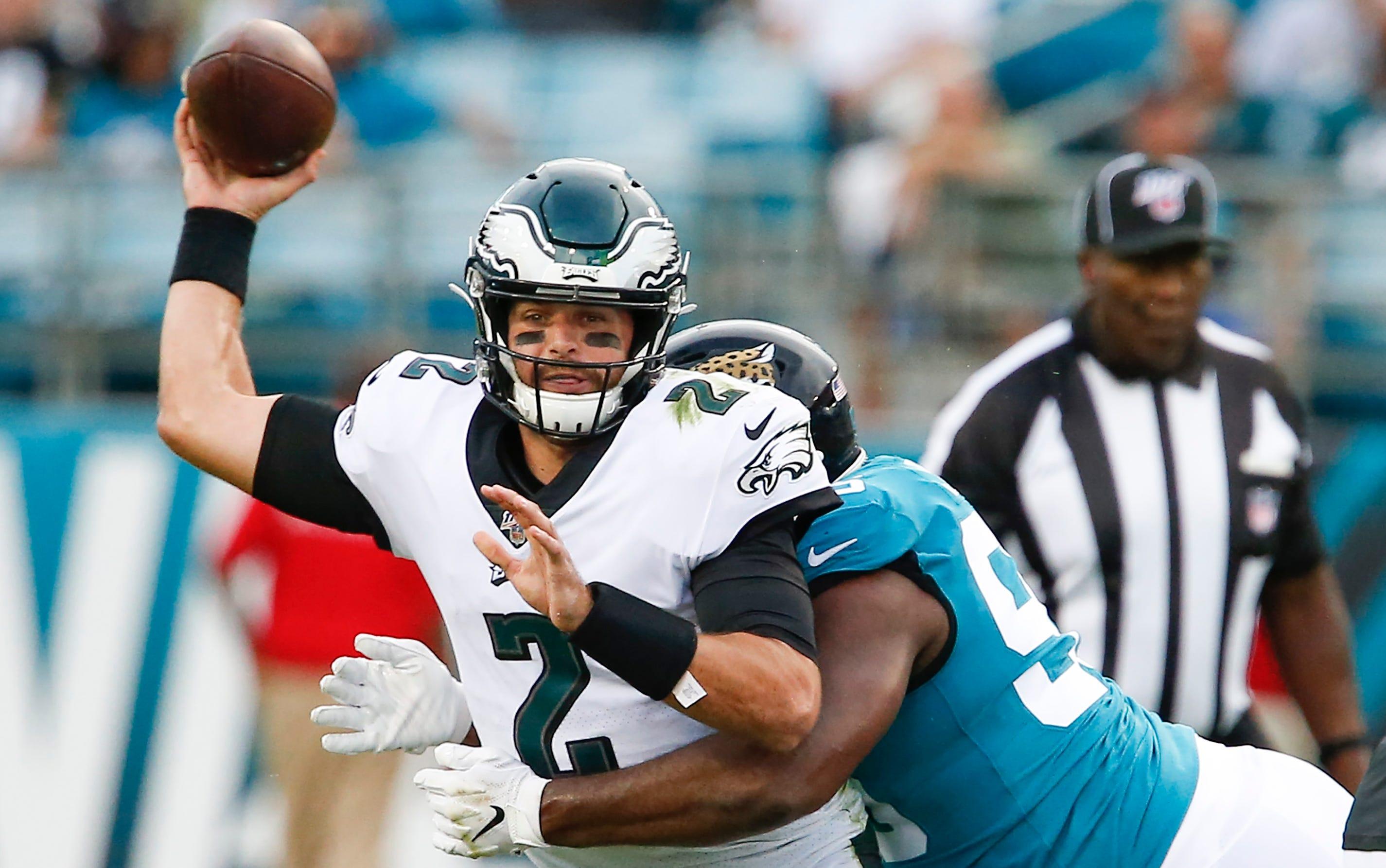 Eagles Cody Kessler Is Latest Philadelphia Quarterback To Be Hurt
