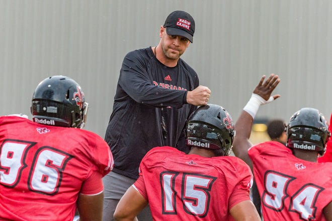 Louisiana head coach Billy Napier is looking for his Ragin' Cajuns to keep this year's game against Mississippi State much closer.