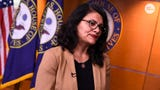 """Rep. Rashida Tlaib says she will not go to the West Bank to visit her grandmother, citing """"oppressive conditions."""" Her decision comes after Israel granted her permission to enter the country."""