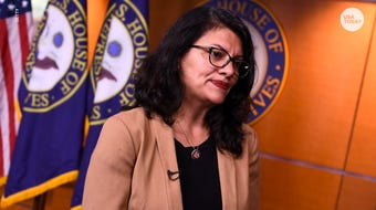 "Rep. Rashida Tlaib says she will not go to the West Bank to visit her grandmother, citing ""oppressive conditions."" Her decision comes after Israel granted her permission to enter the country."