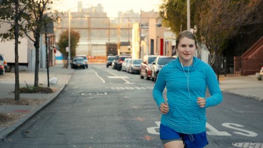 "Jillian Bell goes from partying hard to marathon training in ""Brittany Runs a Marathon."""